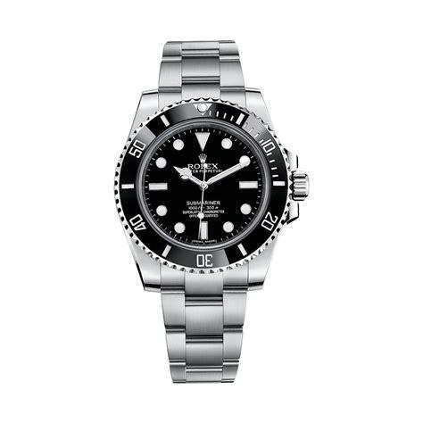 Rolex Submariner 114060 Stainless Steel Watch (Black ...