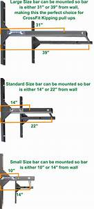 Wall Mounted Pull Up Bar Guide