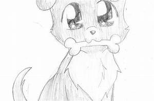 Puppy Drawings Easy Cute Tumblr Puppies Dog Drawing ...