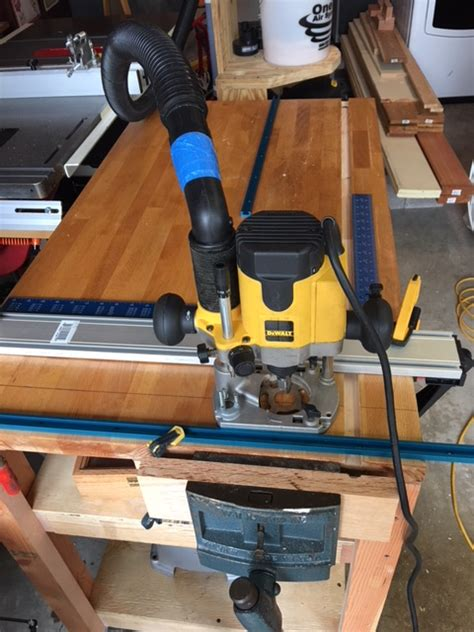 finished  outfeed assembly table router forums