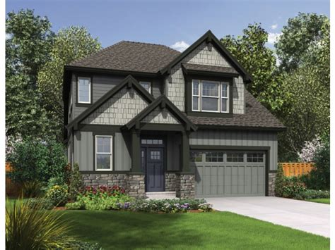 style house craftsman house floor plans narrow lot craftsman house