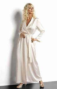 luxueux long deshabille en satin tres chic fluide et With robe femme fluide