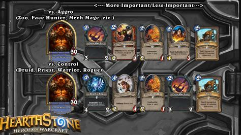 hearthstone decks warrior grim patron s14 update 2eu grim patron warrior guide with