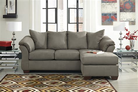 Arm Protectors For Sofas by Darcy Sectional Cobblestone Right Side Chaise