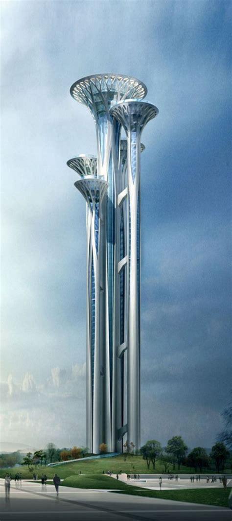Futuristic architecture 2637 - DECORATHING