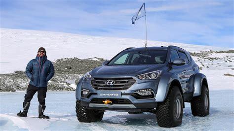 hyundai santa fe shackleton endurance  review car
