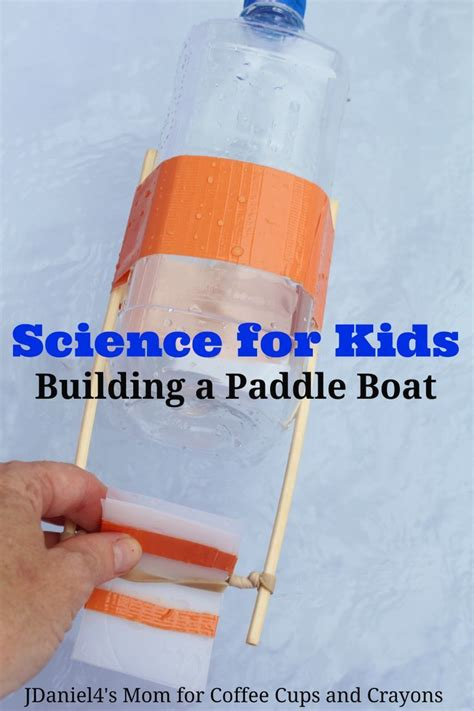 science  kids build  paddle boat   indoors