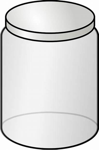 Jar Empty Container Bottle Plastic Glass Clipart
