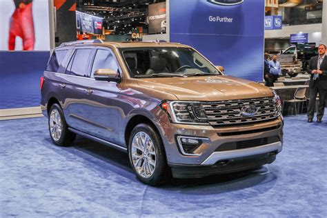 2018 Ford Expedition First Look Review Bigger, But Lighter