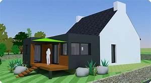 extension maison toit plat cv06 jornalagora With delightful maison bois toit plat 9 extensions nord maison bois nord