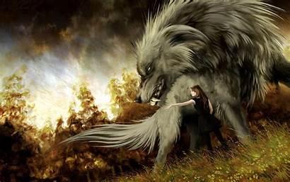 Wolf Wallpapers Anime Fantasy Hound Podedworna Anna