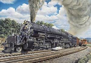 In 1944  The B Railroad Acquired Its Greatest Modern Steam