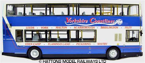modelbuszone cmnl model ukbus  yorkshire coastliner volvo olympianalexander royale