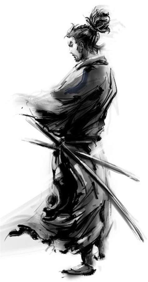 Miyamoto Musashi | Samurai tattoo, Samurai art, Samurai