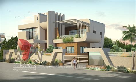 Modern Style Architectural Renders by Architectural Visualization Studio Surat 3d Power