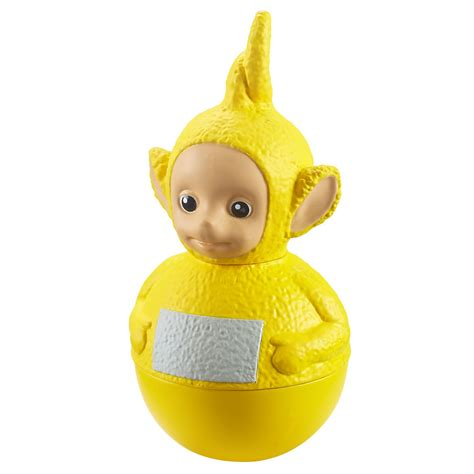 Weebles Official Teletubbies Figures Tinky Winky Dipsy Laa