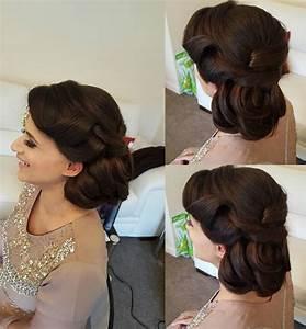 Bun Hairstyles For Wedding Reception HairStyles