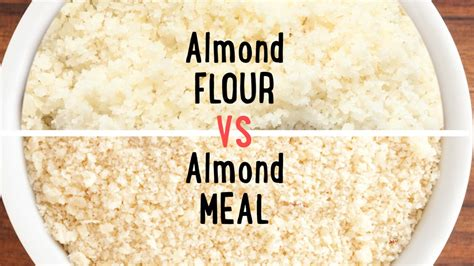 almond meal almond meal vs almond flour what s the difference food 101 well done youtube