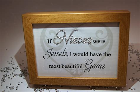 If Nieces Were Beautiful Gems, Sparkle Word Art Pictures, Quotes, Sayings, Home Decor