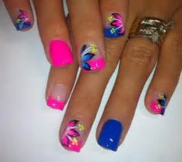Spring and summer nails on manicures nail polish