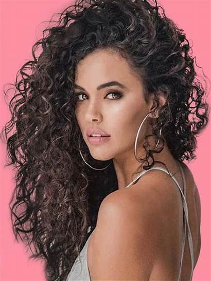 Curly Hairstyles Thick Stunning Showmybeauty Bangs Curls