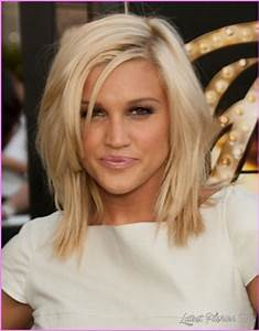 Straight Medium Length Haircuts With Layers