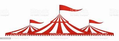 Circus Tent Carnival Vector Clip Festival Istock
