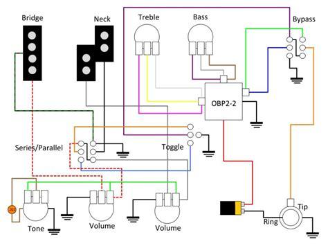 wiring obp3 pre vpp active passive vpp series parallel 3 selector delano tone pot