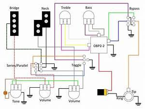 Wiring Obp3 Pre - Vpp  Active Passive - Vpp  Series Parallel - 3  Pickup Selector