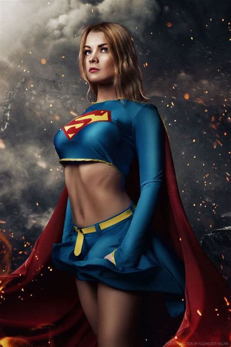 240 Best Images About Dc Cosplay Classic Supergirl (real