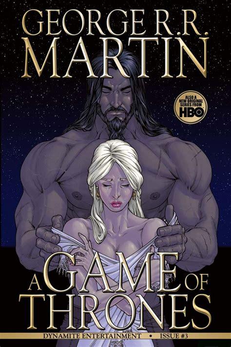 dynamite george rr martins  game  thrones