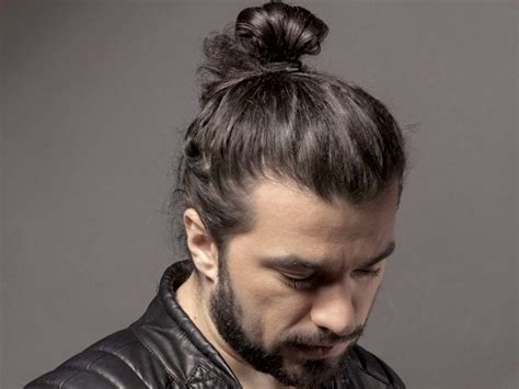 70 Best Man Bun Hairstyle And Top Knot Cuts