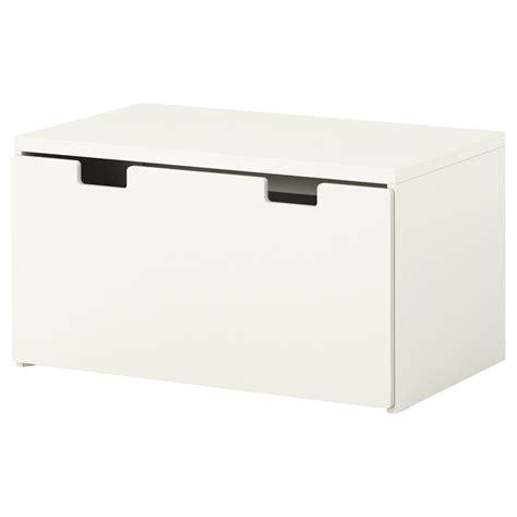 Ikea  Stuva, Banc Avec Rangement, Blancblanc