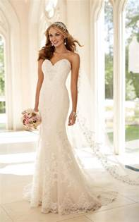 fit and flare dress wedding fit and flare strapless wedding dress i stella york wedding dresses