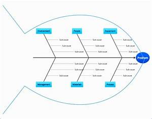 8 Fishbone Template Excel - Excel Templates