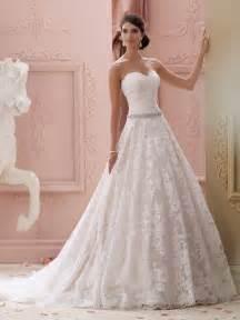 wedding dresses david tutera pink wedding gown