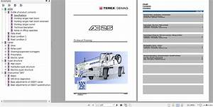 Terex Demag Mobile Crane Ac25 Technical Training Manual En