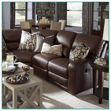 Throw Pillows For Brown Sofa by Leather Sofa Throw Pillows The Sandberg Home Traditional