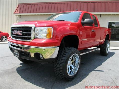 lifted gmc red 2011 gmc sierra lifted www pixshark com images