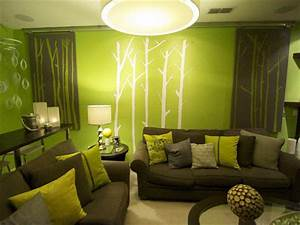 Green, Sitting, Room, Ideas, Guihebaina, Inspiring, Green, Living, Room, Intended, For, Lime, Green, Living