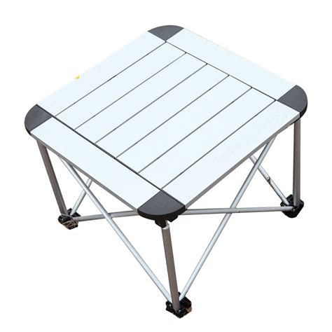 compact folding cing table portable folding table and chairs kingc aluminum outdoor