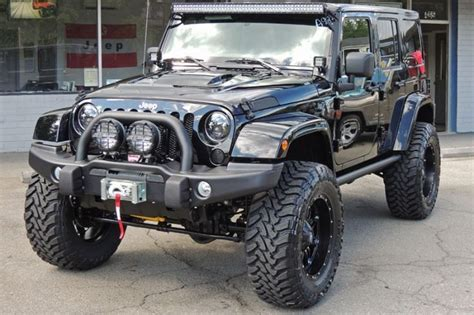 light bar on jeep rigid industries 50 quot e series led light bar for the jeep