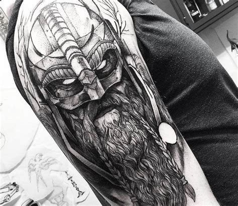 viking tattoo  fredao oliveira tattoos pinterest