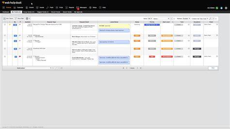 solarwinds web help desk demo training videos web help desk
