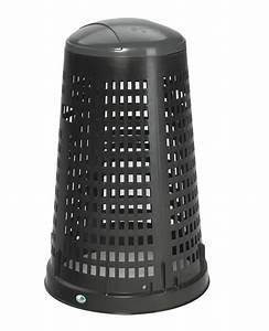 Poubelle 120 Litres : support sac poubelle pe 120 litres ~ Melissatoandfro.com Idées de Décoration