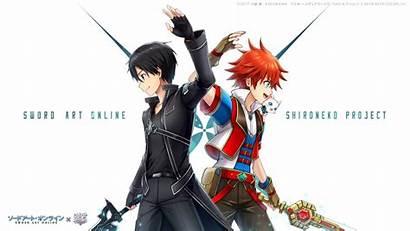 Kirito Shironeko Anime Kazuto Sword Kirigaya Crossover