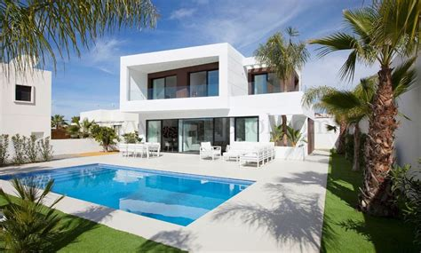 Moderne Villa Mit Pool by Location Maison Espagne Alicante Ventana