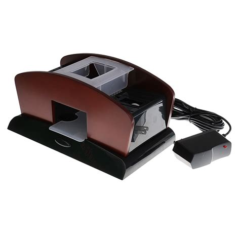 Our exclusive range of products also includes themed bar furniture, lightings, and accessories like wall darts and wall clocks, all made from best quality materials to meet a standard of quality you expect from a trusted brand like ags. New 2 Deck Wood Card Shuffler Double Use Automatic Playing Shuffling Machine Playing Cards for ...