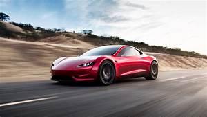 Tesla Roadster Car 4K Wallpapers - New HD Wallpapers