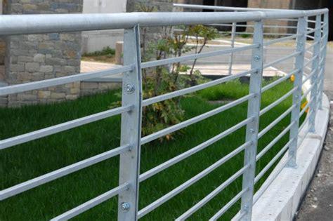 ringhiera zincata ringhiere zincate carpenteria metallica leggera secco